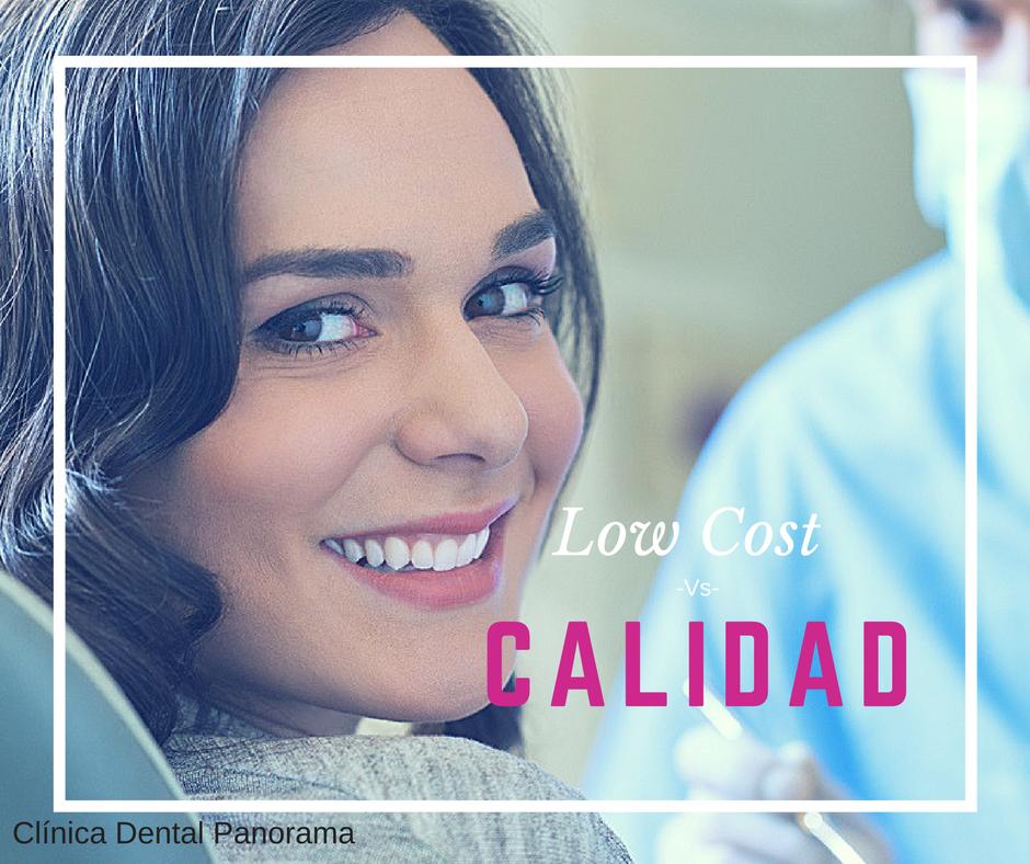 ¿Clínica dental de calidad o low cost?